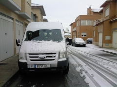 Otra de nieve alegria que se acaba el dia