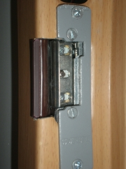 Puerta acorazada gardesa  con portero automatico
