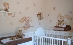 Mural infantil de magda playà