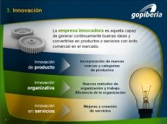 Presentación Corporativa - Innovación