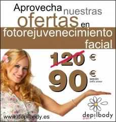 Depilbody fotorejuvenecimiento facial ipl oferta
