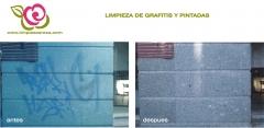 Eliminacion de graffitis y pintadas - limpieza de fachadas