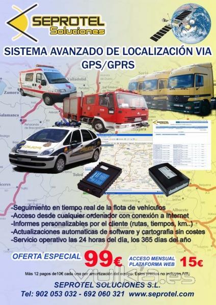 Oferta Sistema de Localización GPS y Control de Flotas de Vehículos