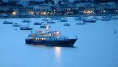 Portocolom es uno de los mayores puertos naturales de la isla de mallorca.
