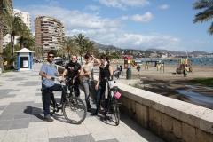 discubre Malaga con nuestras bicicletas de ciudad