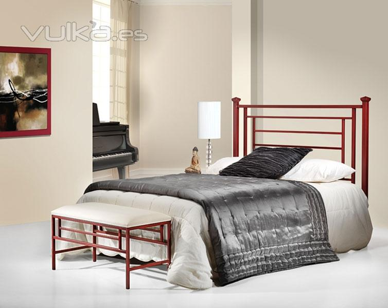 Forjaland cabeceros de forja camas forja l mparas forja forja art stica artesana muebles - Cabeceros de hierro ...