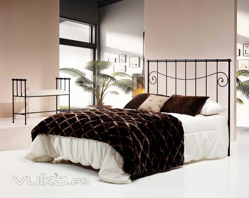 Forjaland cabeceros de forja camas forja l mparas - Disenos de cabeceros de cama ...