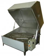 LAVADORA DE CESTA ROTATIVA MODELO L-152 (lavado de piezas)