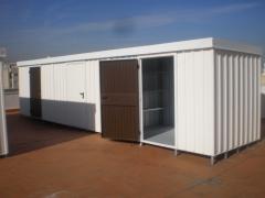 Trasteros de terraza instalados en almusafes, valencia