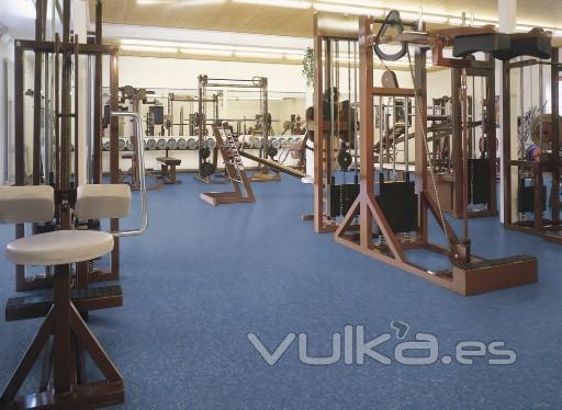 Foto pavimento nora en gimnasio - Suelo gimnasio ...