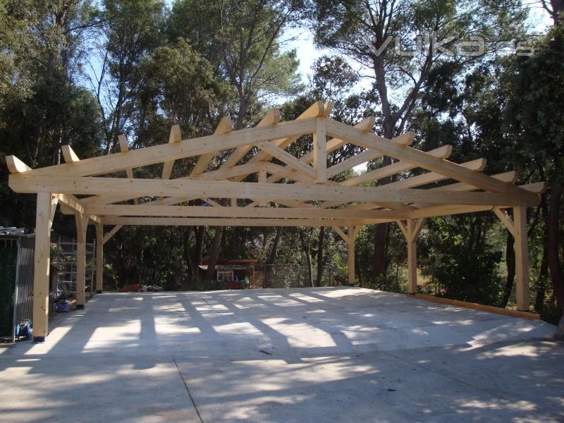 Foto porche casa particular en pals for Tejados prefabricados