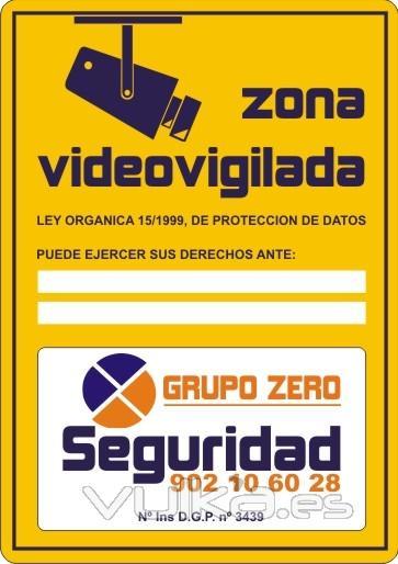 Foto cartel zona videovigilada - Cartel zona videovigilada ...