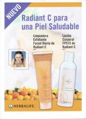 Revitalizantes Radiant C.. EXCELENTE  l�nea de productos Radiant C� para a�adir m�s protecci�n antioxidante.