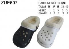 Zueco de invierno con lena - collection 2011
