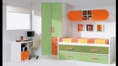 Armario rincon con compacto y galeria. dormitorio juvenil whynot new