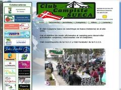 Portal web Club Campista Sueca