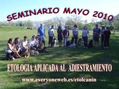 Seminarios/taller etologia aplicada,educacion canina,adiestramiento