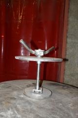 Fabricación y soldadura de válvula escoriador en acero inoxidable para central térmica