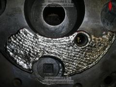 Soldaduras especiales en niquel puro o inconel detalle soldadura antidesgaste por corrosión química de hidrocarburos