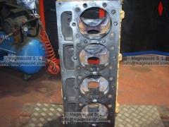 Bloque de motor caterpillar cat soldadura de hierro fundido. en 4 asientos de válvula y 1 hasta el apoyo del ...