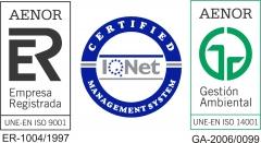 Nuestros certificados de calidad
