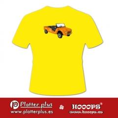 Camisetas hooops meharil en plotterplus, una mezcla de objetos cotidianos y colores intensos en la coctelera, un ...