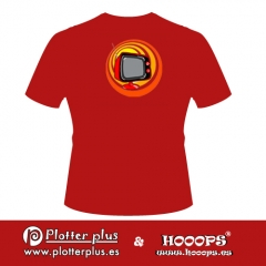 Camisetas hooops pop tv en plotterplus, una mezcla de objetos cotidianos y colores intensos en la coctelera, un ...