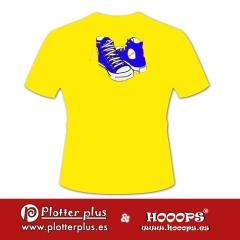 Camisetas hooops zapatillas en plotterplus, una mezcla de objetos cotidianos y colores intensos en la coctelera, un ...