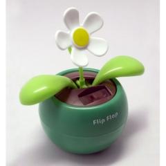 Planta solar flip flap,  no necesita agua solo se alimenta de la luz del sol