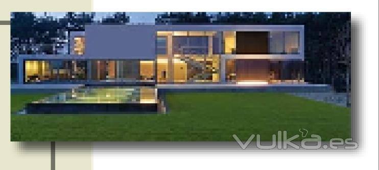 Foto casas modernas for Tejados de madera modernos