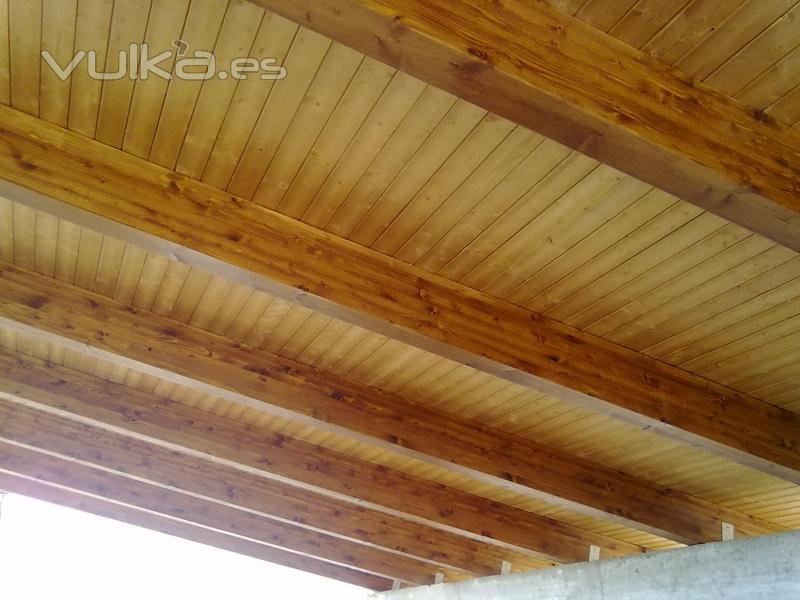 Cubiertas tecnicas en madera cutecma - Cubiertas de madera para tejados ...