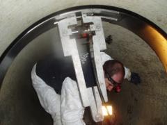 Reparaci�n interior de juntas (gran di�metro)