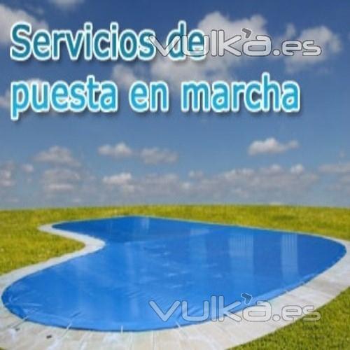 Servicios de puesta a punto y mantenimiento de piscinas en Granada
