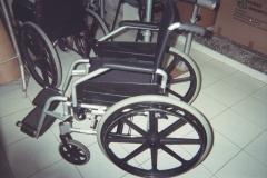 Sillas de ruedas convencionales y de alta gama(aluminio,fibra de carbono) y de deporte