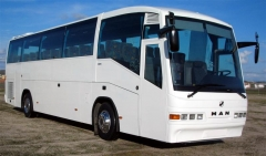 Autobús Man IRIZAR permiso D
