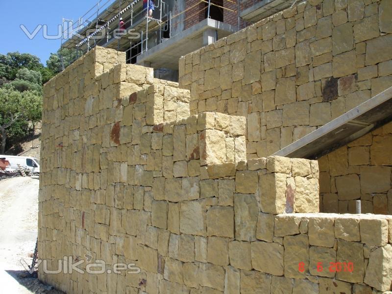 800 x - Muros de rocalla ...