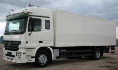 Camión mercedes benz actros permiso c y cap