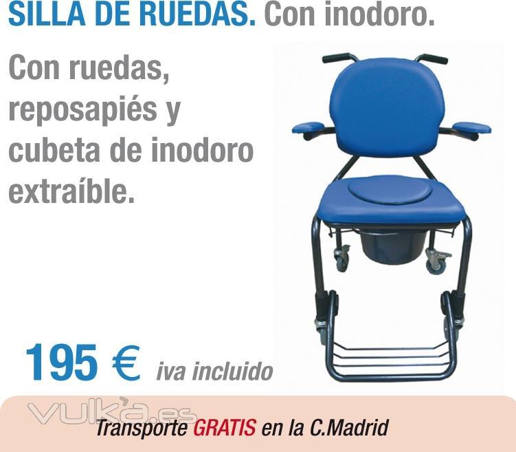 Mundo dependencia madrid calle maudes 15 for Sillas para hospital