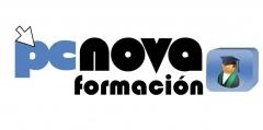 Logo PCNOVA Formación. Formación a su medida, en cualquier lugar de España . 4 Cursos por el precio de 1