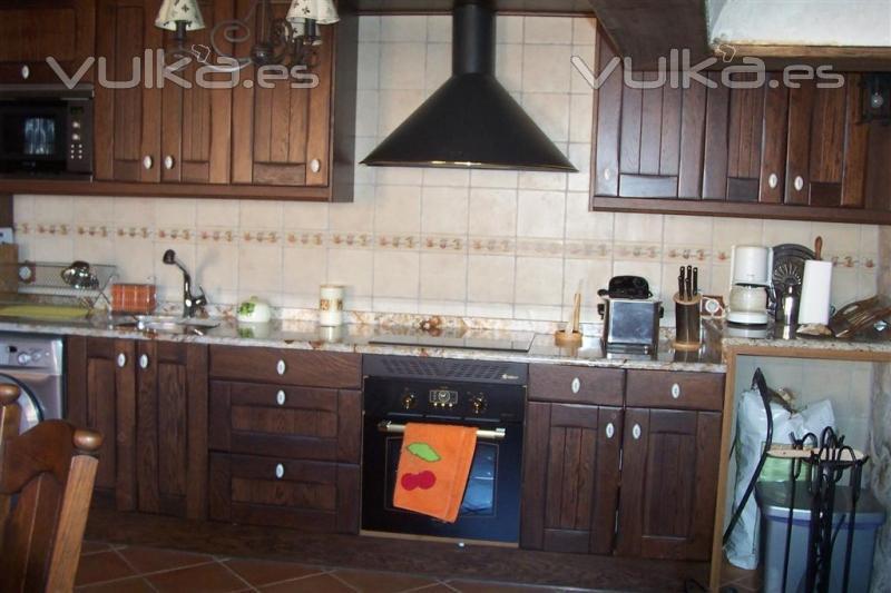 Foto cocina rustica en madera - Cocinas rusticas de madera ...