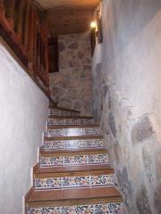 Escalera de acceso a la vivienda