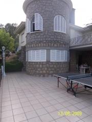 Vista de terraza y torreon