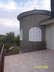 Vista de la torre de el chalet