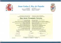 Quirino & brokers - título universitario oficial de licenciado en administracion y direccion de empresas de la ...
