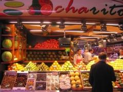 Mostrador frutas