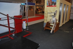 plataformas y sillas