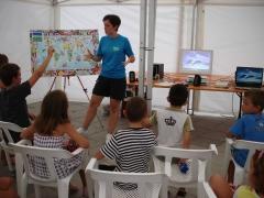 Vibrando con las adaptaciones del Delf�n en el taller de Biodiversidad