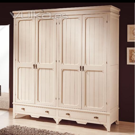 Acabado en blanco envejecido para muebles for Lacar muebles en blanco a pistola