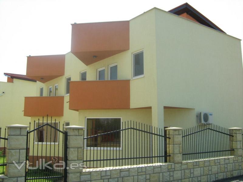 Foto pintura exterior casas - Pintura exterior de casas ...