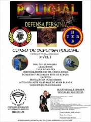 Curso de defensa policial